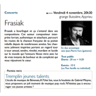 Ticket culture : concert/Frasiak