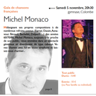 Ticket culture : concert/Michel Monaco